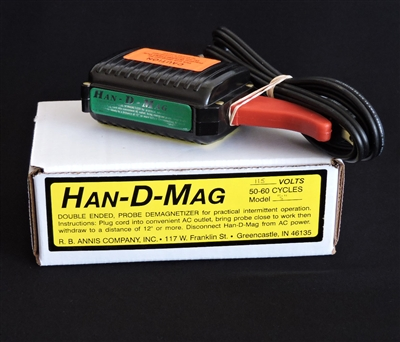 Audio Tape Head Demagnetizer