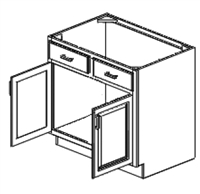 "Fordham Series  Stafford Shaker SPICE DRAWER - 1 DRAWER (6""Wx24""D""x34 1/2""H) from The Cabinet Depot"