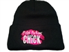 Pistol Packing Chick Stocking Cap