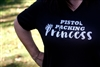 Pistol Packing Princess V Neck Shirt