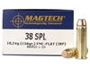 Magtech .38 Special Ammo 158 Grain Full Metal Jacket