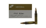 Magtech 5.56x45 Ammo 62 Grain Full Metal Jacket