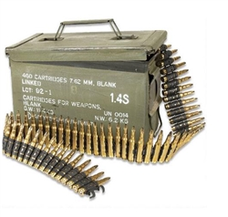 Magtech/CBC 7.62x51 NATO Mil-Spec Blanks Linked Ammo