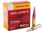 Sellier & Bellot .338 Lapua Magnum Ammo 250 Grain Sierra Match King Hollow Point Boat Tail