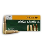 Sellier & Bellot 7.62x39 Ammo 123 Grain Full Metal Jacket