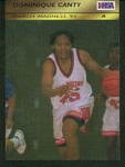Dominique Canty High School Basketball Card