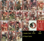 Florida State Seminoles Football Senior Set FSU