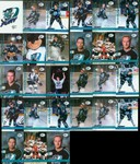 Muskegon Fury 1999-00 Team Set UHL United Hockey League