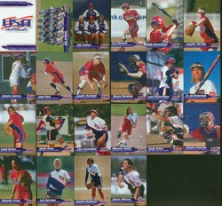 USA Softball Card Team Set Elite Series