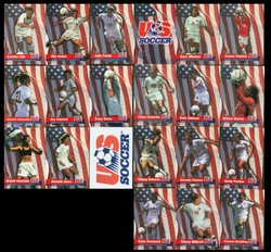 USA Womens Soccer Card Champions Team Set