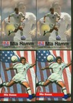Mia Hamm Soccer Card 4 Card Lot