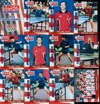 USA Table Tennis Team Card Set