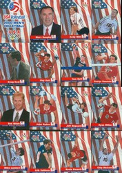 USA Volleyball Mens Olympic Team Set