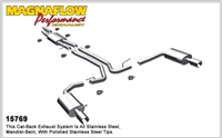 FORD TAURUS SHO CATBACK EXHAUST -- 15769
