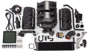 EDELBROCK E-FORCE SUPERCHARGER SYSTEM WITHOUT TUNER FOR 2005-09 Ford Mustang (4.6L 3V) -- 15800