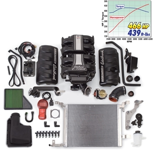 EDELBROCK E-FORCE COMPLETE SUPERCHARGER SYSTEM WITH TUNER FOR 2010 FORD MUSTANG (4.6L 3V) -- 1582
