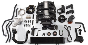 EDELBROCK E-FORCE SUPERCHARGER SYSTEM WITHOUT TUNER FOR 2009-10 FORD F-150 2-WHEEL DRIVE (5.4L 3V) AND 2007-11 FORD EXPEDITION AND LINCOLN NAVIGATOR  - 15830