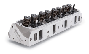 "EDELBROCK PERFORMER RPM CYLINDER HEADS W/ 2.02"" INTAKE VALVES FOR S/B FORD, MECHANICAL FLAT TAPPET AND HYDRAULIC ROLLER CAMSHAFT APPS. (COMPLETE, SINGLE) - 60255"