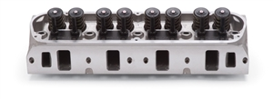 "EDELBROCK PERFORMER RPM CYLINDER HEADS W/ 2.02"" INTAKE VALVES FOR S/B FORD (COMPLETE, SINGLE) - 60259"