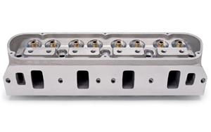 EDELBROCK VICTOR SERIES (SEMI-FINISHED, REQUIRES PROFESSIONAL WORK) CYLINDER HEADS FOR S/B FORD (BARE, SINGLE)  -- 77219