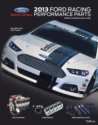 2013 FORD RACING PRINT CATALOG -- M-0750-A2013