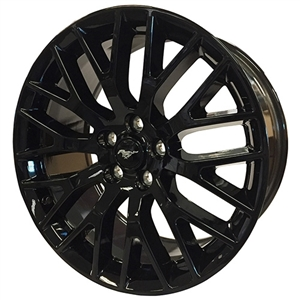 2015-2018 Mustang Performance Pack Rear Wheel Gloss Black 19X9.5 -- M-1007-M1995GB
