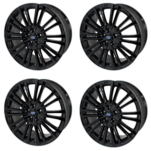 Ford Performance Mk3 Focus RS Wheel 19X8 - Gloss Black - Set of Four -- M-1007K-R198GB