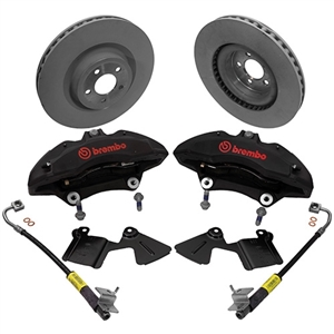 2015-2018 Mustang Performance Pack 6 Piston Brembo Brake Kit -- M-2300-V