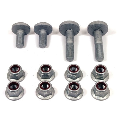 2005-2014 MUSTANG CASTER AND CAMBER ALIGNMENT ECCENTRIC BOLT KIT  -- M-3B236-A