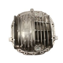 FORD RACING 8.8 INCH ALUMINUM REAR AXLE COVER WITH DIFFERENTIAL COOLER PICKUP AND RETURN PORTS-- M-4033-KA