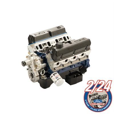 "FORD RACING 5.0L /BOSS 302-363 CID SMALL BLOCK 500 HP ""Z"" HEAD PERFORMANCE CRATE ENGINE ASSEMBLY (Rear Sump) -- M-6007-Z363RT"