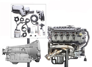 M-9000-PMCA4A Gen 2 5.0L Aluminator Coyote Engine with 6R80 4WD Automatic Transmission