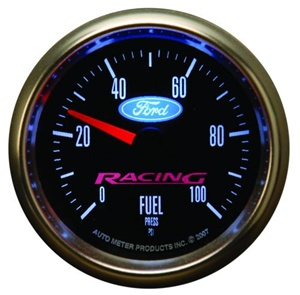 "Ford Racing 2-1/16"" Electric Fuel Pressure Gauge 0-100 PSI"