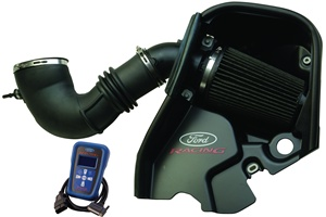 Ford Racing 2005-2009 85MM Mustang GT Cold Air Kit with Premium Calibration -- M-9603-GTB