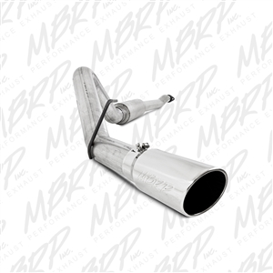 "MBRP 2011-2014 Ford F150, V6 Ecoboost 4"" Cat Back, Single Side Exhaust  -- S5248AL"