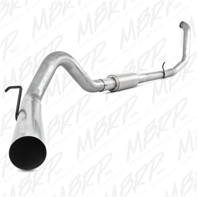 "MBRP 1999-2003 Ford F-250/350 7.3L 4"" Turbo Back, Single Side  -- S6200P"
