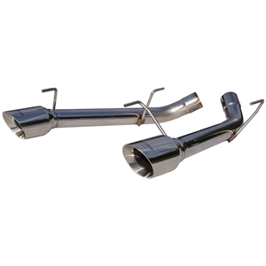 MBRP 2005-2010 Ford Mustang GT Dual Axle Back Muffler Delete, T304  -- S7202304