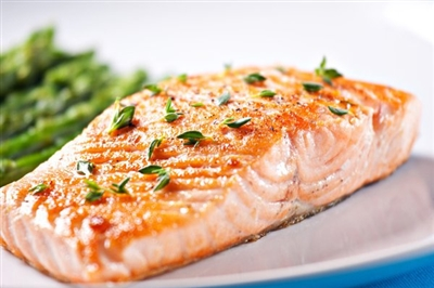 Salmon Fillet with Side