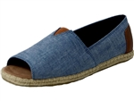 Toms Shoes Inc.: Alpergata Open Toe Chambray