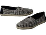 Toms Shoes Inc.: Classic Black Woven Rope Sole