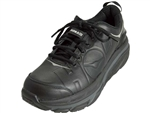 Hoka: Valor Leather: Black