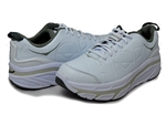 Hoka: Valor Leather: White