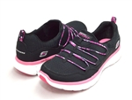 Skechers Synergy Good Stuff Black-Hot Pink