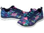 Skechers: Flex Appeal-Cosmic Rays Multi/Navy