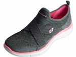 Skechers: Flex Appeal 2.0 New Image Charcoal Coral