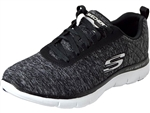 Skechers: Flex Appeal 2.0 Black White