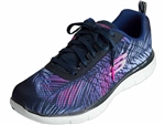 Skechers: Flex Appeal 2.0 Tropical Breeze Navy Pink