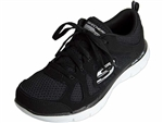 Skechers: Flex Appeal 2.0 Simplistic Black White