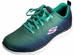 Skechers: Flex Appeal 2.0 Bright Side Navy Aqua