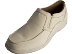 Florsheim: Lakeside Moc Toe Slip On Natural Canvas
